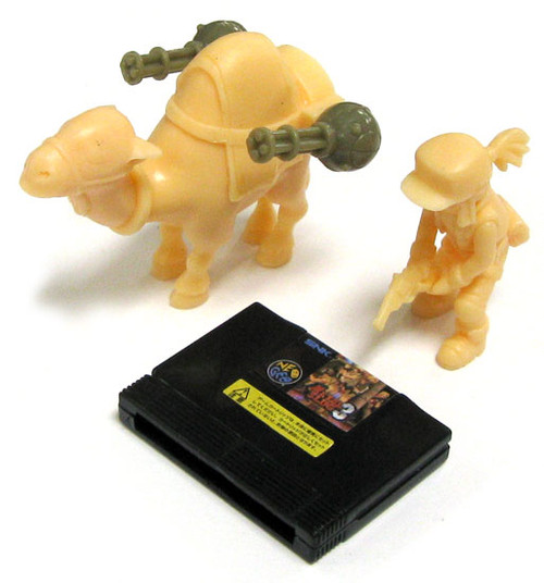 Metal Slug Neo Geo A.R.T.S. Gashapon Camel Slug Model