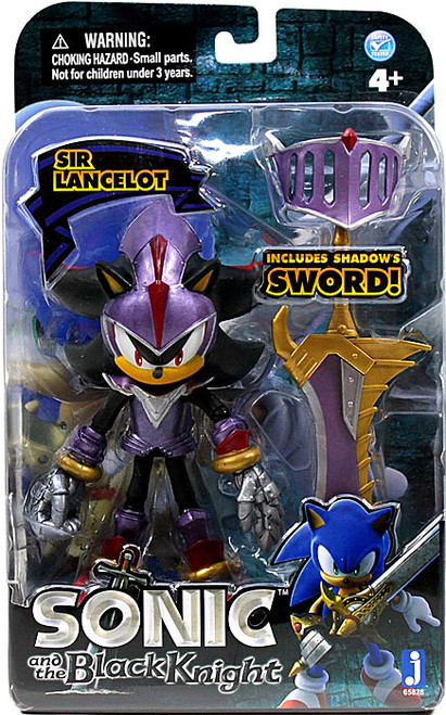 Sonic The Hedgehog Sonic and the Black Knight Sir Lancelot Shadow Action Figure [Purple Armor]