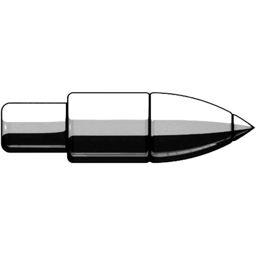 BrickArms Weapons Howitzer Shell 2.5-Inch [Silver]
