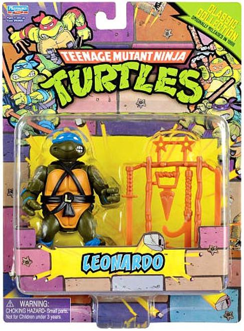 Teenage Mutant Ninja Turtles 1987 Retro Leonardo Action Figure
