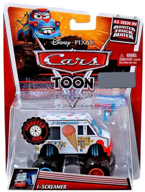 Disney Cars Cars Toon Deluxe Oversized I-Screamer Exclusive Diecast Car