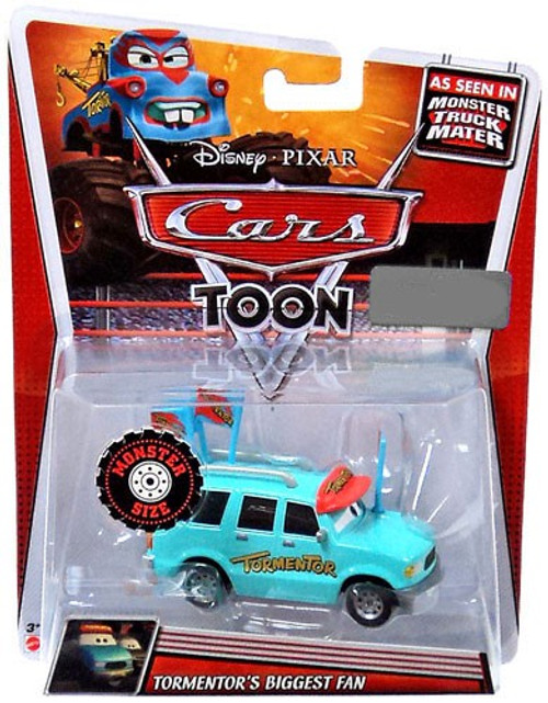 Disney Cars Cars Toon Deluxe Oversized Tormentor's Biggest Fan Exclusive Diecast Car