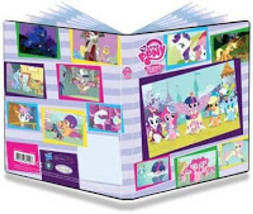 Ultra Pro Collectible Card Game Card Supplies My Little Pony 4 Pocket Portfolio