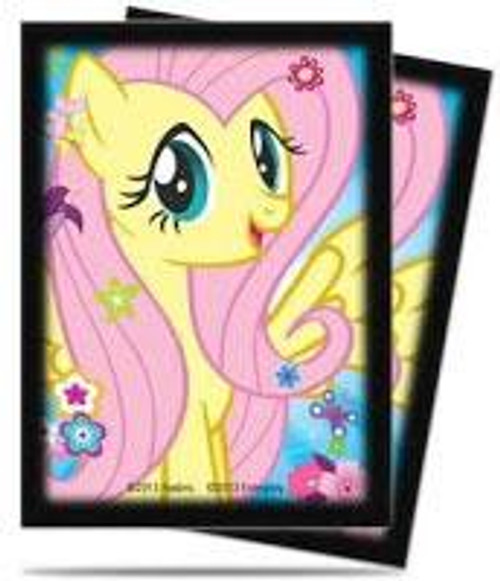Ultra Pro My Little Pony Collectible Card Game Card Supplies Fluttershy Deck Protector Card Sleeves [65 ct]
