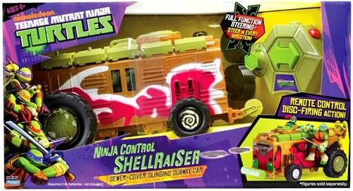 Teenage Mutant Ninja Turtles Nickelodeon Ninja Control Shellraiser Action Figure Vehicle