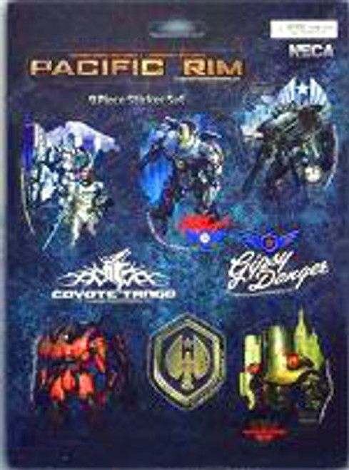 NECA Pacific Rim Jaegers Sticker Set
