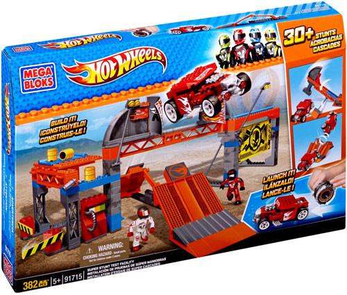 Mega Bloks Hot Wheels Super Stunt Test Facility Set #91715