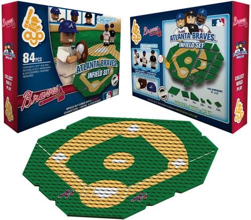 MLB Generation 1 Atlanta Braves Infield Set