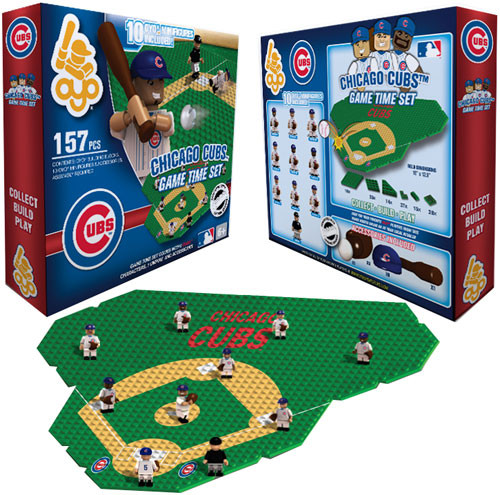 MLB Generation 1 Chicago Cubs Game Time Set