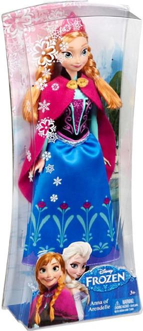 Disney Frozen Sparkle Princess Anna of Arendelle 11-Inch Doll [Version 1]