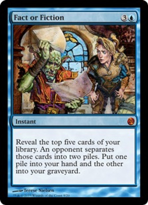 MtG From the Vault: Twenty Mythic Rare Fact or Fiction #9
