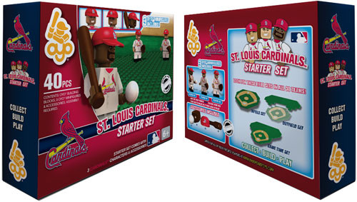 MLB Generation 1 St. Louis Cardinals Starter Set