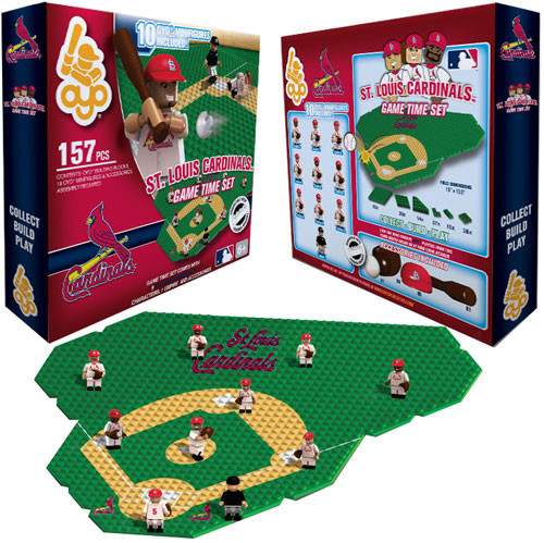 MLB Generation 1 St. Louis Cardinals Game Time Set