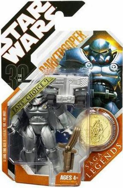 Star Wars Expanded Universe Saga Legends 2007 30th Anniversary Darktrooper Action Figure #22