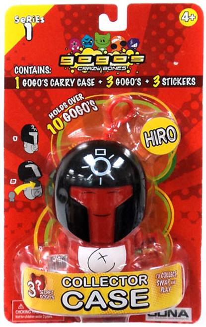 Crazy Bones Gogo's Series 1 Hiro Collector Case