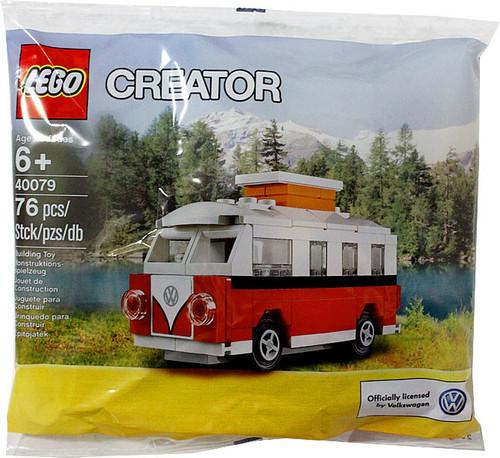 LEGO Creator MINI VW T1 Camper Van Mini Set #40079 [Bagged]