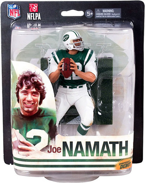 McFarlane Toys NFL New York Jets Sports Picks 2014 Joe Namath Action Figure