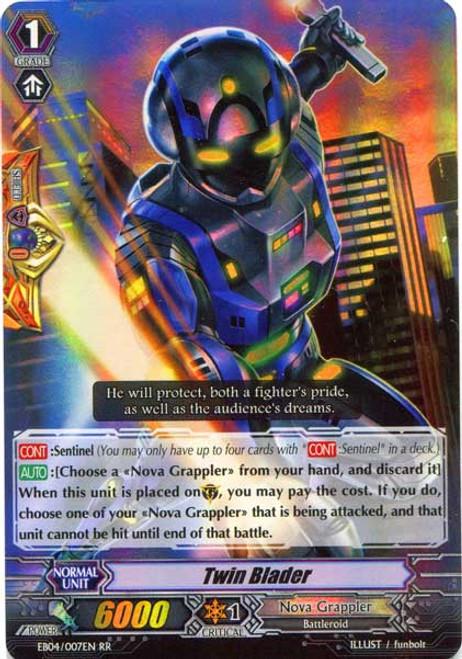 Cardfight Vanguard Infinite Phantom Legion RR Rare Twin Blader EB04/007