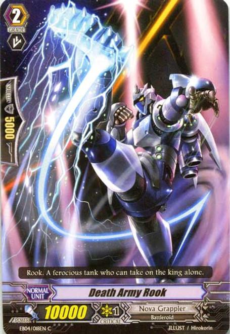 Cardfight Vanguard Infinite Phantom Legion Common Death Army Rook EB04/018