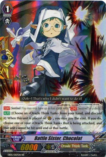 Cardfight Vanguard Celestial Valkyries RR Rare Battle Sister, Chocolat EB05/007