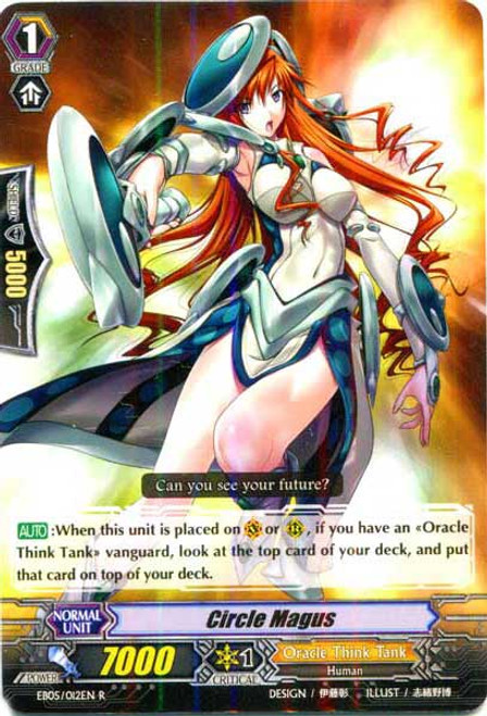 Cardfight Vanguard Celestial Valkyries Rare Circle Magus EB05/012
