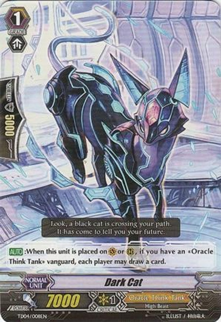 Cardfight Vanguard Celestial Valkyries Common Dark Cat EB05/023