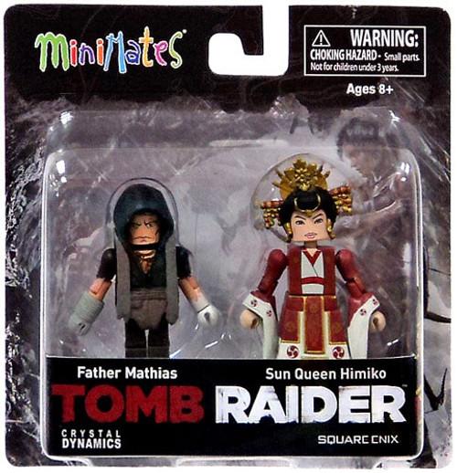 Tomb Raider Minimates Father Mathias & Sun Queen Himiko Minifigure 2-Pack