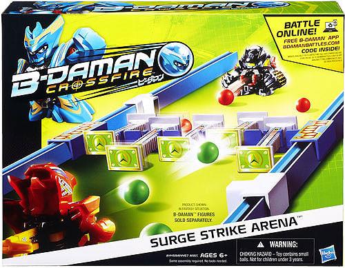 B-Daman Crossfire Surge Strike Arena Playset