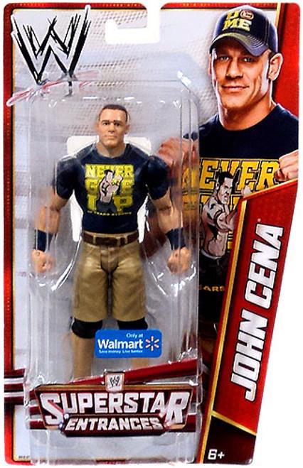 WWE Wrestling Superstar Entrances John Cena Exclusive Action Figure [Blue Shirt]