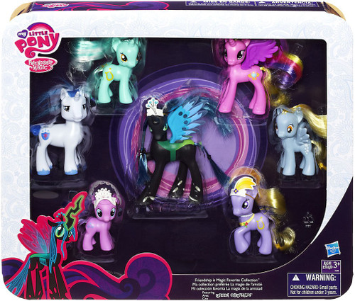 My Little Pony Friendship is Magic Collector Series Favorites Collection Exclusive Figure Set