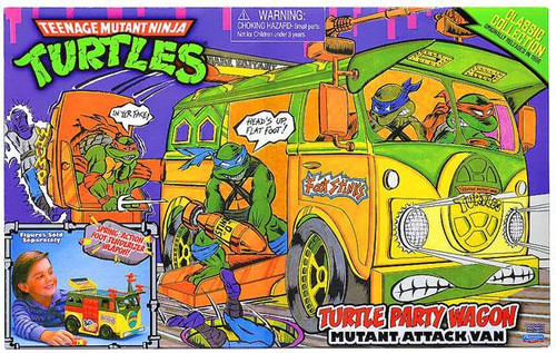 Teenage Mutant Ninja Turtles 1987 Classics Collection Turtle Party Wagon Action Figure Vehicle