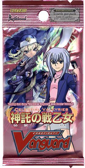 Cardfight Vanguard Celestial Valkyries Booster Pack