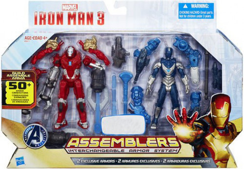 Iron Man 3 Assemblers Red Snapper Iron Man & Gravity Cloak Iron Man Exclusive Action Figure 2-Pack