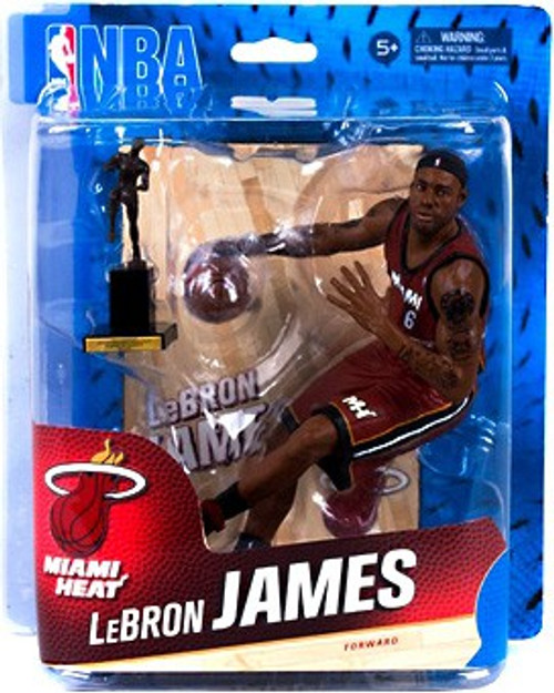 McFarlane Toys NBA Miami Heat Sports Picks Series 24 Lebron James Action Figure
