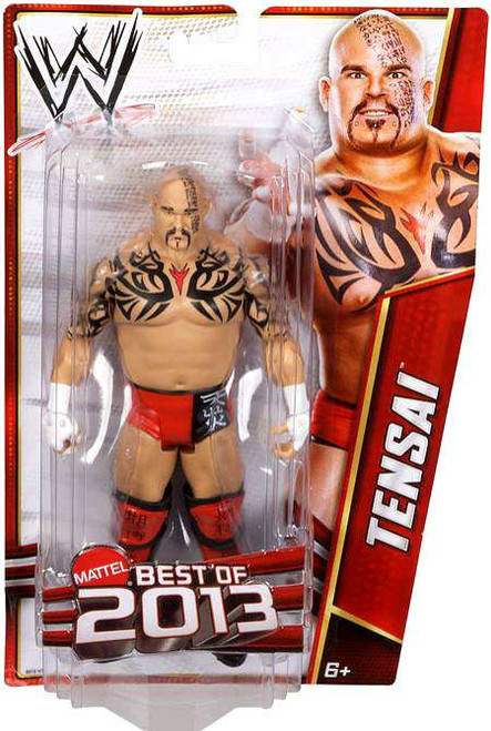 WWE Wrestling Best of 2013 Tensai Action Figure