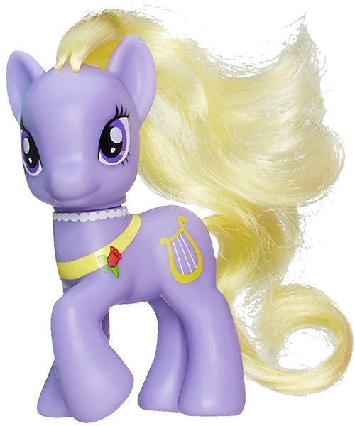 My Little Pony 3 Inch Loose Lyrica Lilac 3.5-Inch Collectible Figure [Loose]