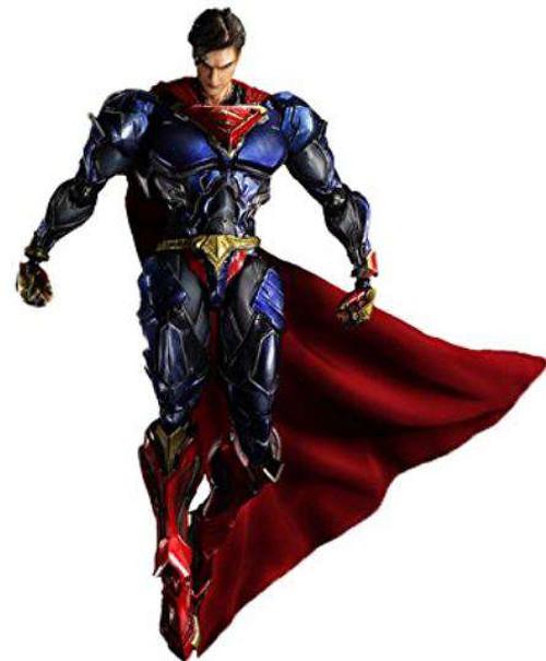 DC Play Arts Kai Variant Superman Action Figure #06