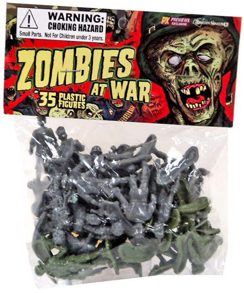 Zombies At War Exclusive Figure Pag
