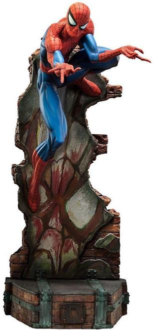 Comiquette Spider-Man Polystone Statue