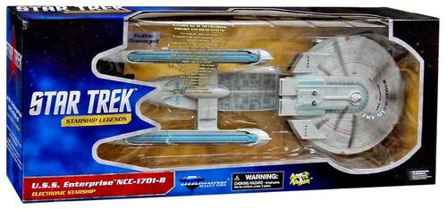 Star Trek Generations Starship Legends U.S.S. Enterprise NCC-1701-B Electronic Starship [Battle Damaged]