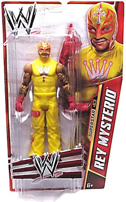 WWE Wrestling Series 34 Rey Mysterio Action Figure #63