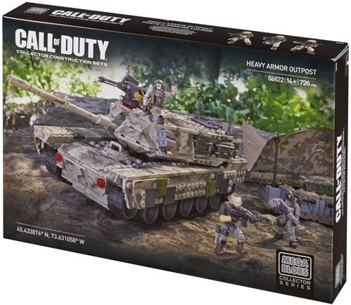 Mega Bloks Call of Duty Heavy Armor Outpost Set #06822