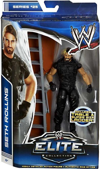 WWE Wrestling Elite Series 25 Seth Rollins {The Shield} Action Figure [Table & Super Size Ladder]