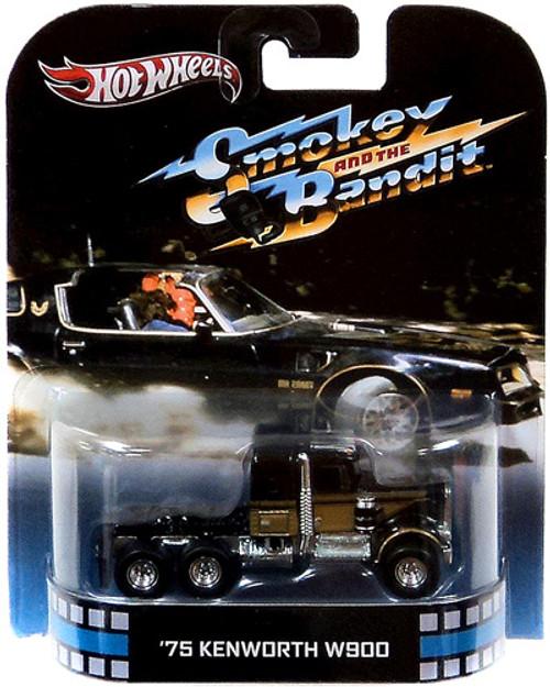 Smokey and the Bandit Hot Wheels Retro '75 Kenworth W900 Diecast Vehicle