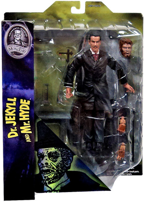 Universal Monsters Dr. Jekyll & Mr. Hyde 7-Inch Figure