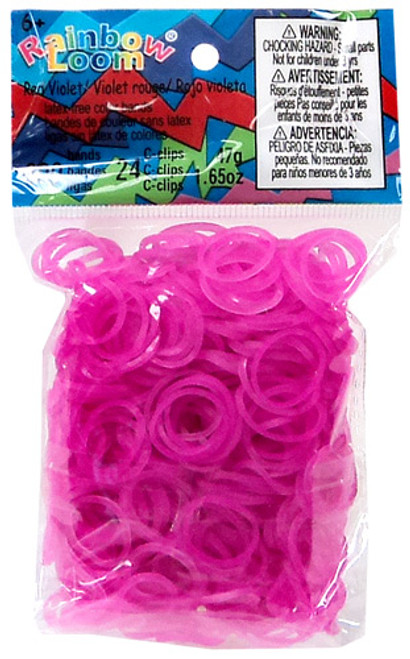 Rainbow Loom Jelly Rose Rubber Bands Refill Pack RL8 [600 ct]