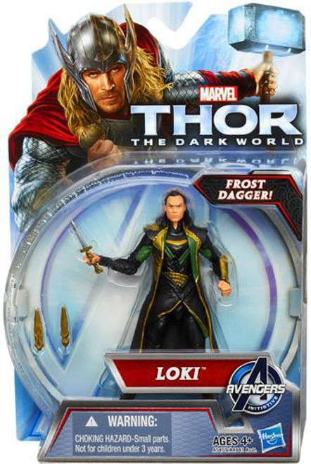 Thor The Dark World Loki Action Figure [Frost Dagger]