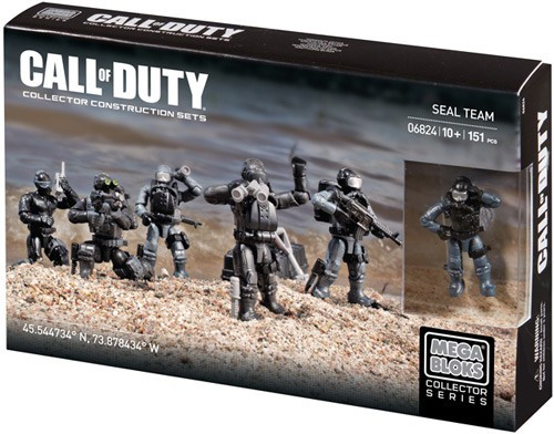 Mega Bloks Call of Duty Seal Team Set #06824