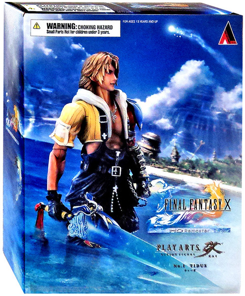 Final Fantasy X Play Arts Kai Tidus Action Figure