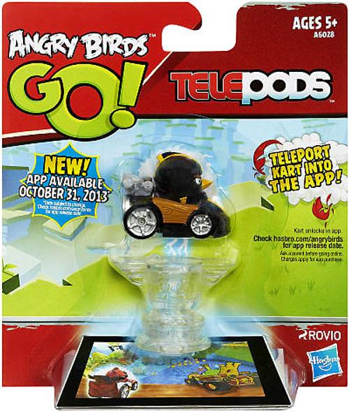 Angry Birds GO! Telepods Kart Series 1 Black Bird Figure Pack
